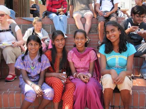 L to R - Kira, Kalindi, Anjali, Julia